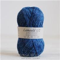 Пряжа Lamauld Джинсовый 6831, 100м/50г, CaMaRose, Jeansbla