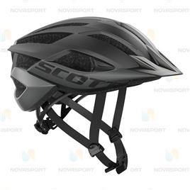 Шлем велосипедный Scott ARX MTB Black, интернет-магазин Sportcoast.ru