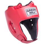 Шлем открытый Special HGS-4025, кожзам, красный