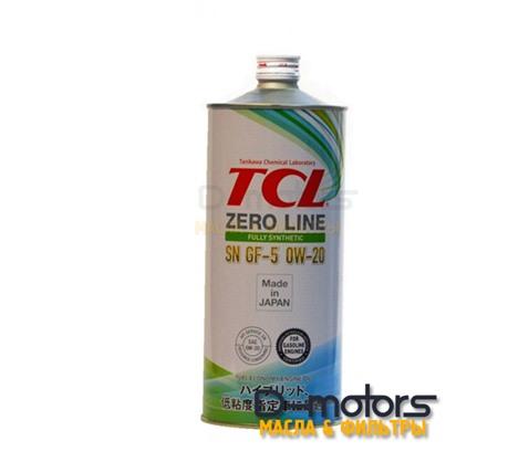 Моторное масло TCL Zero Line 0W-20 SN/GF-5 (1л.)