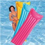 Надувной матрас Intex 59703 плавательный (голубой)