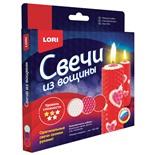 Набор для изготовления свечей из вощины Lori Розовые Сердечки Пз/С-006