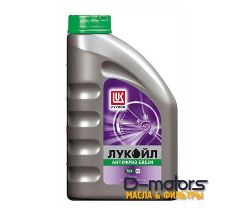 Охлаждающая жидкость Лукойл Антифриз G11 Green (1кг.)