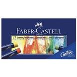 Пастель масляная художественная Faber Castell Oil Pastels 12 цветов круглое сечение 127012