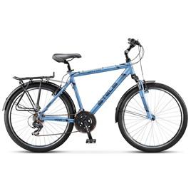 Велосипед Stels Navigator 700 V 26 (2016) Синий/Металлик/Черный , интернет-магазин Sportcoast.ru