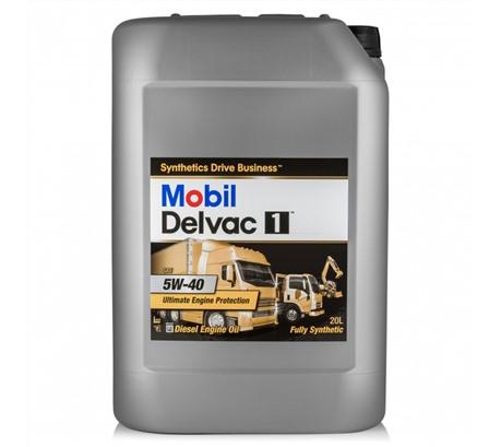 Mobil Delvac 1 5W-40, 20л