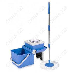 Швабра с ведром Spin Mop Mini Transformer (цвет синий)