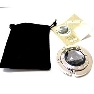 Держатель-крючок для сумок Elegant Элегант (черный кристалл), Любая женщина придет в восторг от такого подарка!