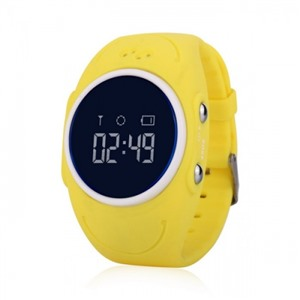 Детские часы GPS трекер Smart Baby Watch W8 GW300S Водонепроницаемые Желтые