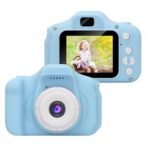 Детский фотоаппарат CARTOON DIGITAL CAMERA X2 голубой