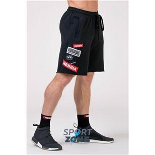 NE NEBBIA BOYS Shorts цв.чёрный