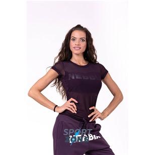 Ne Flash-Mesh T-shirt цв.бургундия