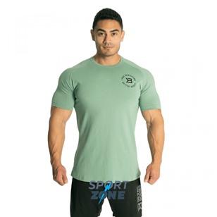 Футболка Better Bodies Gym Tapered Tee, морской зелёный