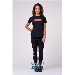 NEBBIA x Womens T-Shirt  цвет черный