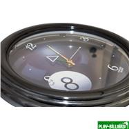 Weekend Часы настенные (черные), интернет-магазин товаров для бильярда Play-billiard.ru. Фото 2