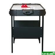 Аэрохоккей «Jersey» 4 ф (122 х 60 х 76,5 см, черный, складной), интернет-магазин товаров для бильярда Play-billiard.ru. Фото 2