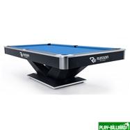 Weekend Бильярдный стол для пула «Victory II Plus» 9 ф (черный), интернет-магазин товаров для бильярда Play-billiard.ru. Фото 1
