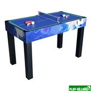 Weekend Многофункциональный игровой стол 12 в 1 «Universe» (113 х 60 х 78 см, синий), интернет-магазин товаров для бильярда Play-billiard.ru. Фото 3
