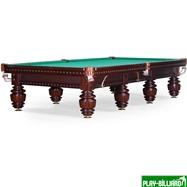 Weekend Бильярдный стол для русского бильярда «Turnus II» 12 ф (махагон), интернет-магазин товаров для бильярда Play-billiard.ru