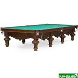 Weekend Бильярдный стол для русского бильярда «Rococo» 12 ф (орех), интернет-магазин товаров для бильярда Play-billiard.ru