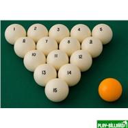 Weekend Комплект шаров 68 мм «Crown X Edition», интернет-магазин товаров для бильярда Play-billiard.ru. Фото 2