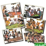 Weekend Зеркало-постер «Doggies» (1 шт), интернет-магазин товаров для бильярда Play-billiard.ru