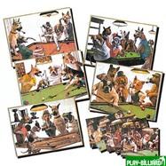 Weekend Зеркало-постер «Doggies» (5 шт), интернет-магазин товаров для бильярда Play-billiard.ru