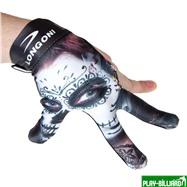 Longoni Перчатка бильярдная «Longoni Fancy Skull 1», интернет-магазин товаров для бильярда Play-billiard.ru. Фото 2