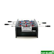 Настольный футбол (кикер) «Manchester» (черный), интернет-магазин товаров для бильярда Play-billiard.ru. Фото 2