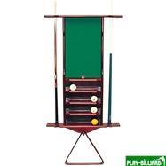 Weekend Киевница настенная универсальная (махагон, 111 х 75 х 10 см), интернет-магазин товаров для бильярда Play-billiard.ru