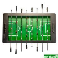 Настольный футбол (кикер) «Bavaria» (146 х 81 х 88 см, черный), интернет-магазин товаров для бильярда Play-billiard.ru. Фото 4