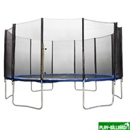 Weekend Батут DFC Trampoline Fitness 18 футов с сеткой (549 см), интернет-магазин товаров для бильярда Play-billiard.ru