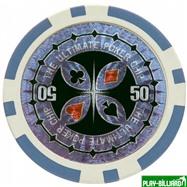 Набор для покера Ultimate на 300 фишек, интернет-магазин товаров для бильярда Play-billiard.ru. Фото 2