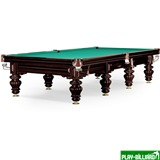 Weekend Бильярдный стол для русского бильярда «Turin» 12 ф (черный орех), интернет-магазин товаров для бильярда Play-billiard.ru