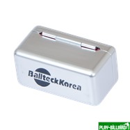 Ball Teck Мел «Ball teck PRO II» (2 шт, в серебристой металлической коробке) синий, интернет-магазин товаров для бильярда Play-billiard.ru. Фото 4