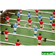 Weekend Настольный футбол (кикер) «Maccab Mini» (121x61x81, орех, складной), интернет-магазин товаров для бильярда Play-billiard.ru. Фото 6