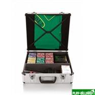 Набор для игры в покер и блэк-джек Nuts на 600 фишек, интернет-магазин товаров для бильярда Play-billiard.ru. Фото 2