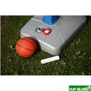Баскетбольный щит на регулируемой опоре «Deluxe Basketball» (с мячом для мини-баскетбола), интернет-магазин товаров для бильярда Play-billiard.ru. Фото 6