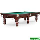 Weekend Бильярдный стол для русского бильярда «Hardy» 10 ф (махагон), интернет-магазин товаров для бильярда Play-billiard.ru