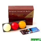 "Aramith Saluc Комплект шаров 61.5 мм ""Super Aramith Tornament"", интернет-магазин товаров для бильярда Play-billiard.ru"