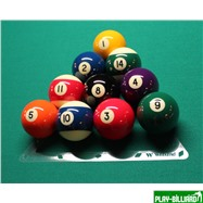 Weekend Комплект трафаретов для установки шаров 57,2мм (пул), интернет-магазин товаров для бильярда Play-billiard.ru. Фото 5