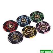 Набор для покера Lux на 500 фишек, интернет-магазин товаров для бильярда Play-billiard.ru. Фото 8