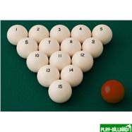 Classic Комплект шаров 68 мм «Classic А-качество», интернет-магазин товаров для бильярда Play-billiard.ru. Фото 2