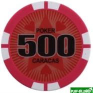 Набор для покера Caracas на 500 фишек, интернет-магазин товаров для бильярда Play-billiard.ru. Фото 3
