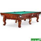 Weekend Бильярдный стол для русского бильярда «Gogard» 10 ф (орех пекан), интернет-магазин товаров для бильярда Play-billiard.ru