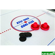 Atomic Аэрохоккей «Atomic Power Play» 7 ф (214 х 117 х 79 см, черный), интернет-магазин товаров для бильярда Play-billiard.ru. Фото 5