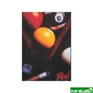"""Weekend Постер """"Pool bals and triangle"""", интернет-магазин товаров для бильярда Play-billiard.ru"""