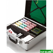 Набор для игры в покер и блэк-джек Nuts на 600 фишек, интернет-магазин товаров для бильярда Play-billiard.ru. Фото 5