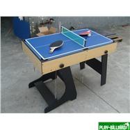 Многофункциональный игровой стол (119 х 61 х 81 см, светлый), интернет-магазин товаров для бильярда Play-billiard.ru. Фото 8