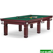 Weekend Бильярдный стол для русского бильярда «Texas» 10 ф (махагон), интернет-магазин товаров для бильярда Play-billiard.ru